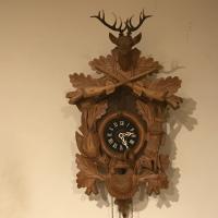 Cuckoo Clock German Black Forest Style Working