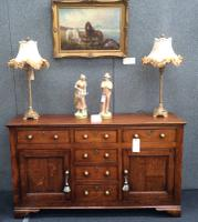 Early 19th Century Oak Dresser Base