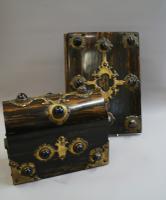 A Victorian Coromandel Wood Stationary Set