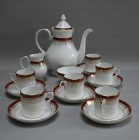 Royal Grafton Bone China Coffee Set in the Majestic Design
