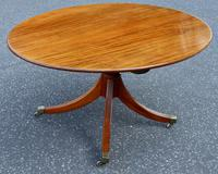 Eight-Seater Georgian 1790s Mahogany Oval Tilt Top Dining Table (6 of 6)