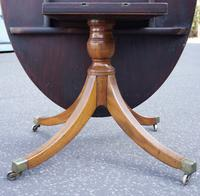 Eight-Seater Georgian 1790s Mahogany Oval Tilt Top Dining Table (5 of 6)