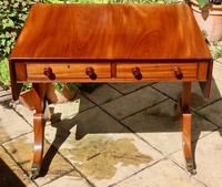 Solid Mahogany 1820s End Support Sofa Table in Excellent Condition (2 of 7)