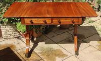 Solid Mahogany 1820s End Support Sofa Table in Excellent Condition (5 of 7)