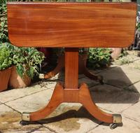 Solid Mahogany 1820s End Support Sofa Table in Excellent Condition (7 of 7)
