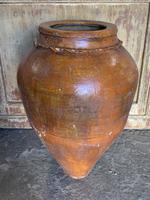 Turkish Terracotta Urn