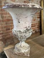 Pair of French Cast Iron Urns (5 of 5)
