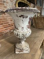 Pair of French Cast Iron Urns (3 of 5)