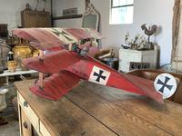 Scatch Built Red Baron's Triplane (6 of 8)