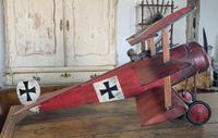 Scatch Built Red Baron's Triplane (8 of 8)