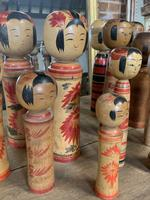 Collection of 22 Japanese Kokeshi Wooden Dolls (3 of 8)