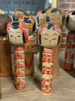 Collection of 22 Japanese Kokeshi Wooden Dolls (5 of 8)