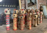 Collection of 22 Japanese Kokeshi Wooden Dolls (7 of 8)