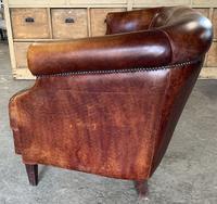 Vintage Dutch Leather Sofa (3 of 7)