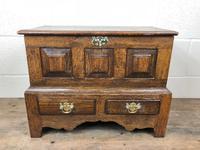 18th Century Style Welsh Oak Coffer Bach C.1930