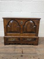 18th Century Style Welsh Oak Coffer Bach