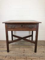 Antique 19th Century Oak Lowboy Side Table