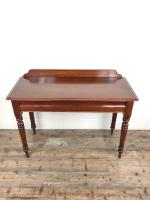 Antique Victorian Mahogany Console Table (3 of 11)
