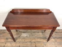 Antique Victorian Mahogany Console Table (4 of 11)