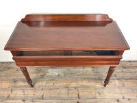 Antique Victorian Mahogany Console Table (5 of 11)