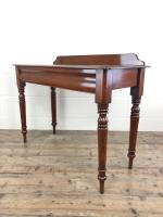 Antique Victorian Mahogany Console Table (8 of 11)