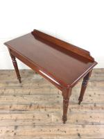 Antique Victorian Mahogany Console Table (9 of 11)