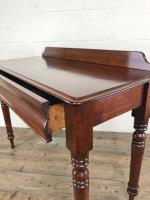 Antique Victorian Mahogany Console Table (10 of 11)