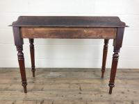 Antique Victorian Mahogany Console Table (11 of 11)