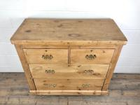 Antique Victorian Pine Chest of Drawers (3 of 10)
