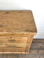 Antique Victorian Pine Chest of Drawers (6 of 10)
