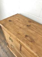 Antique Victorian Pine Chest of Drawers (7 of 10)
