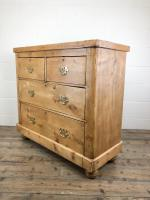 Antique Victorian Pine Chest of Drawers (8 of 10)