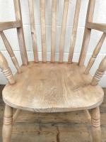 Antique 19th Century Ash & Elm Windsor Armchair (3 of 12)