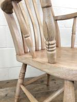 Antique 19th Century Ash & Elm Windsor Armchair (5 of 12)
