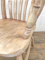 Antique 19th Century Ash & Elm Windsor Armchair (6 of 12)