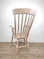 Antique 19th Century Ash & Elm Windsor Armchair (10 of 12)