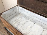 18th Century Oak Coffer with Cleated Plank Lid (10 of 19)