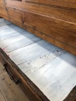 18th Century Oak Coffer with Cleated Plank Lid (11 of 19)