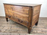 18th Century Oak Coffer with Cleated Plank Lid (13 of 19)