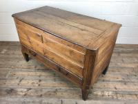 18th Century Oak Coffer with Cleated Plank Lid (14 of 19)