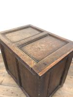 Small Antique 19th Century Two Panel Coffer (7 of 7)