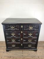 Antique 18th Century Jacobean Style Oak Chest of Drawers (3 of 13)
