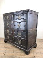 Antique 18th Century Jacobean Style Oak Chest of Drawers (9 of 13)