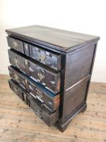 Antique 18th Century Jacobean Style Oak Chest of Drawers (10 of 13)