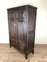 17th Century Joined Oak Cupboard (8 of 12)