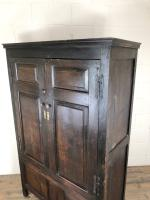 17th Century Joined Oak Cupboard (9 of 12)