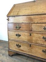 Early 19th Century Pale Oak Bureau (4 of 12)