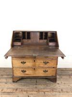 Early 19th Century Pale Oak Bureau (6 of 12)