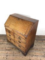 Early 19th Century Pale Oak Bureau (10 of 12)