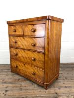 Victorian Satinwood Chest of Drawers (7 of 12)